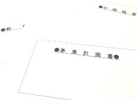 事業計画書の作成の代行