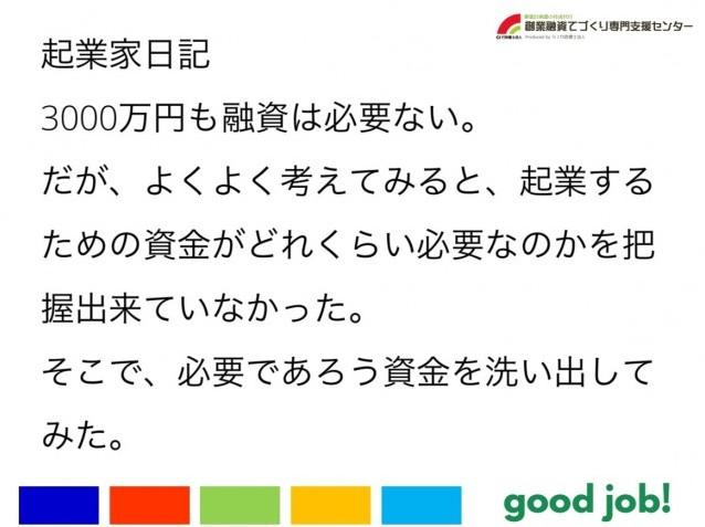 【起業家日記82】3000万円も融資は必要ない